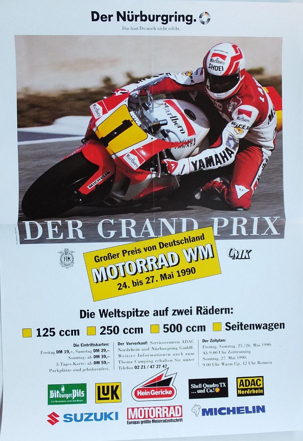 Original Poster-Nurburgring 1990
