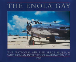 Enola Gay Multi Signed Poster