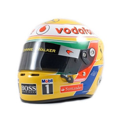 Lewis Hamilton helmet 2012