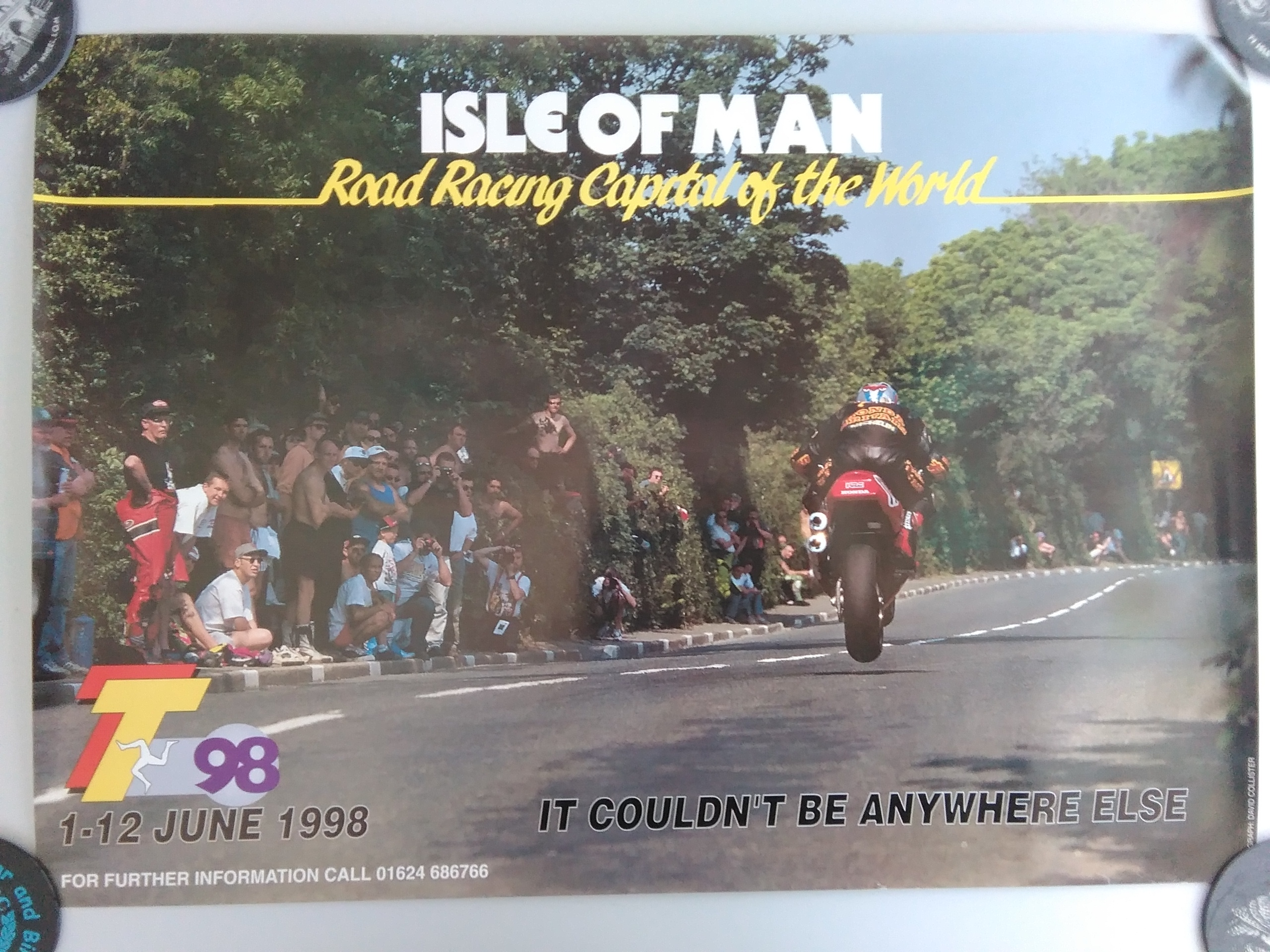 1998 Original TT Poster Signed