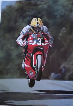 Joey Dunlop At Ballacrye