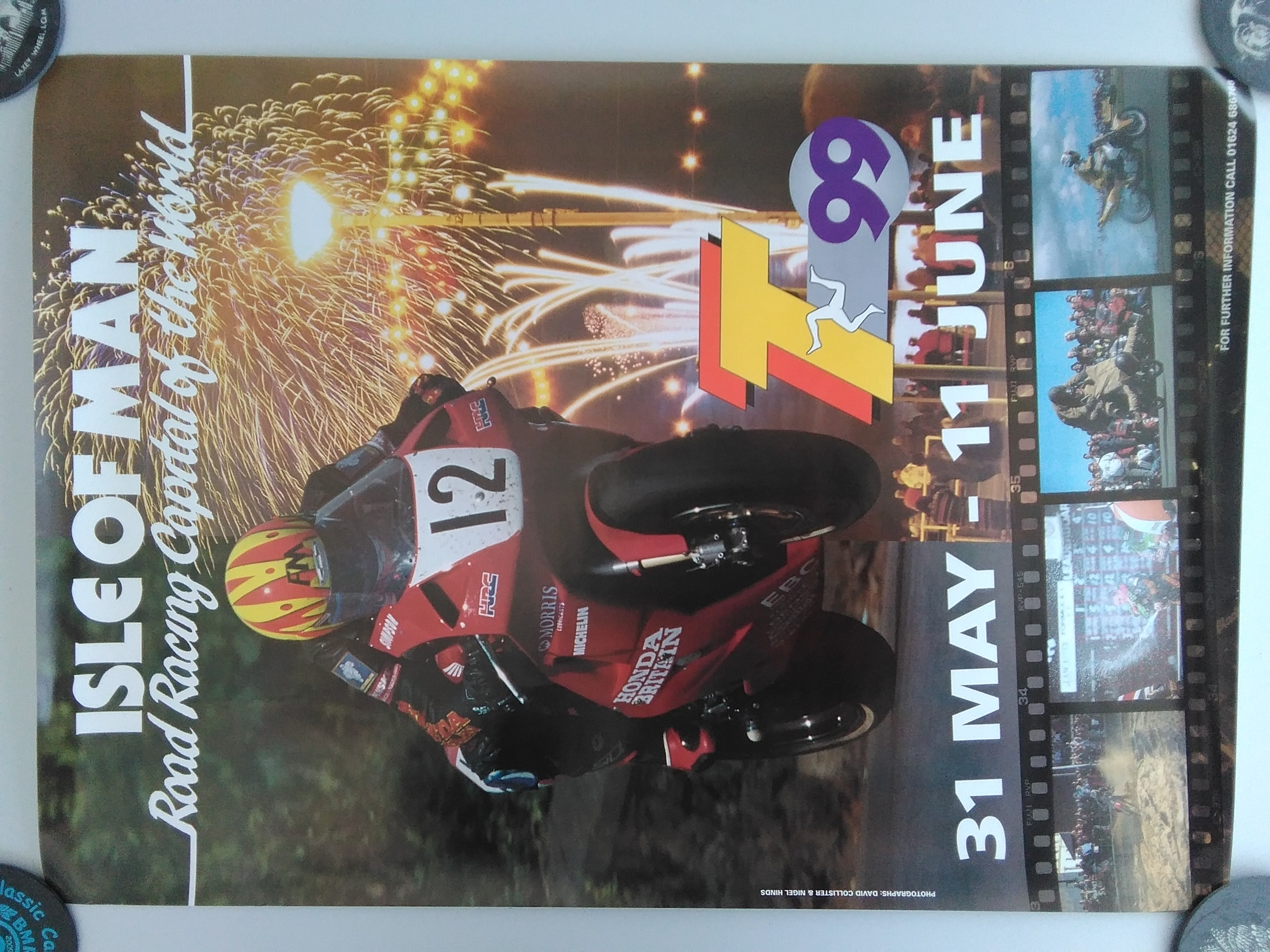 Original 1999 TT Poster