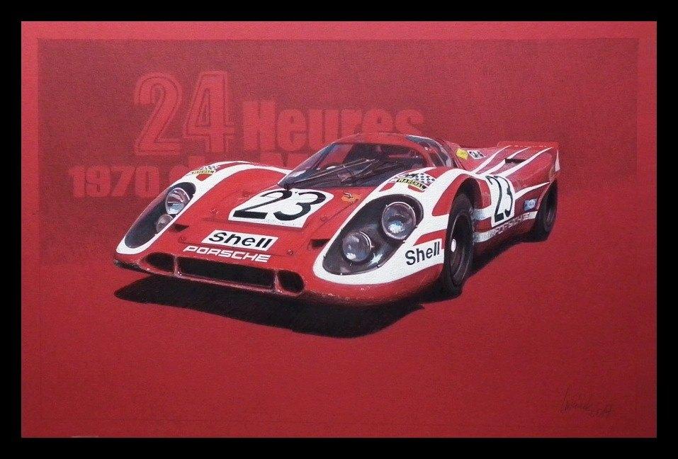 Porsche 917K Le Mans 1970