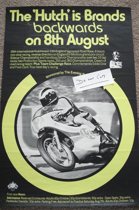 1971 Brands Hatch Poster
