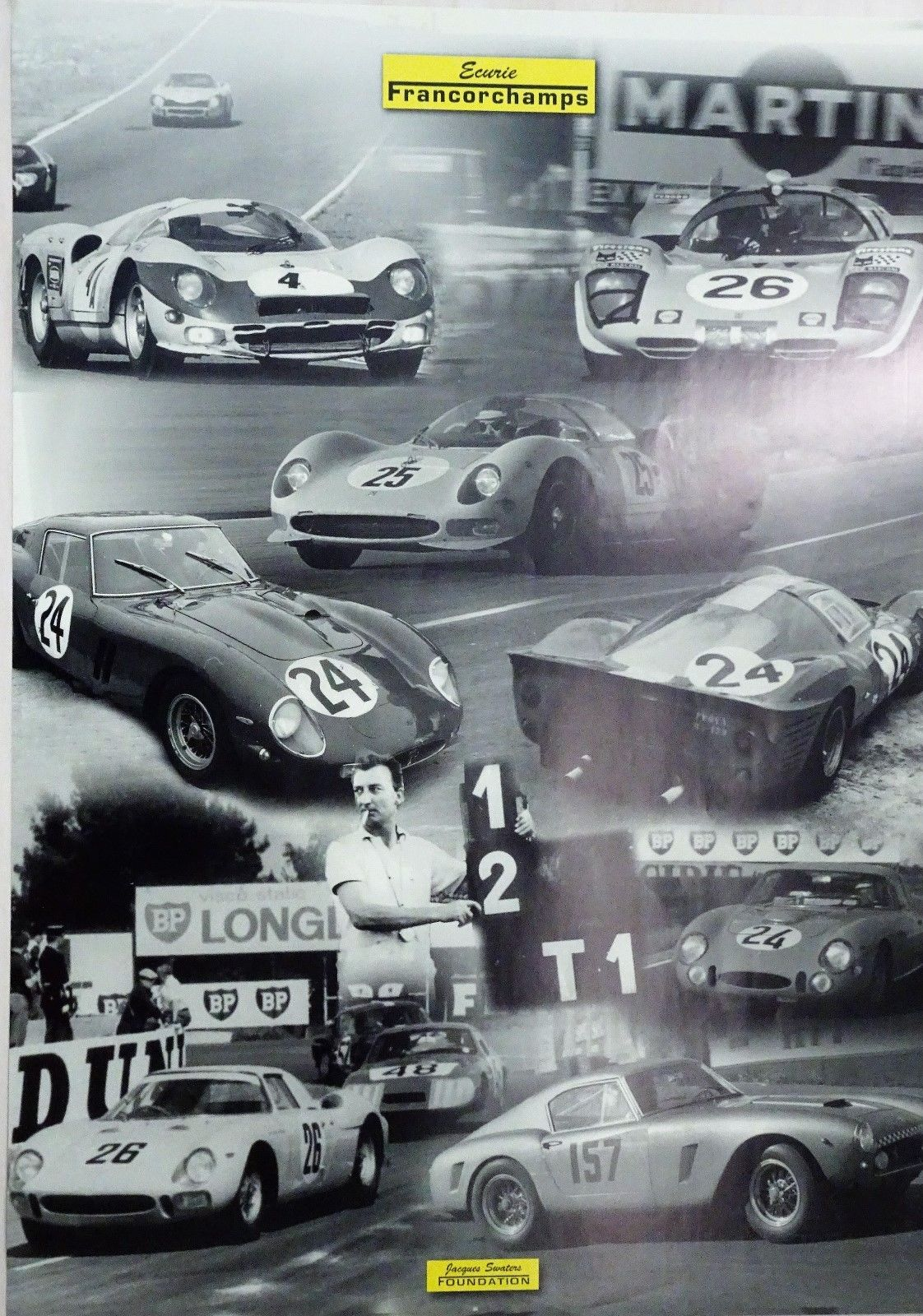 Ecurie Francorchamps Ferrari Poster 2