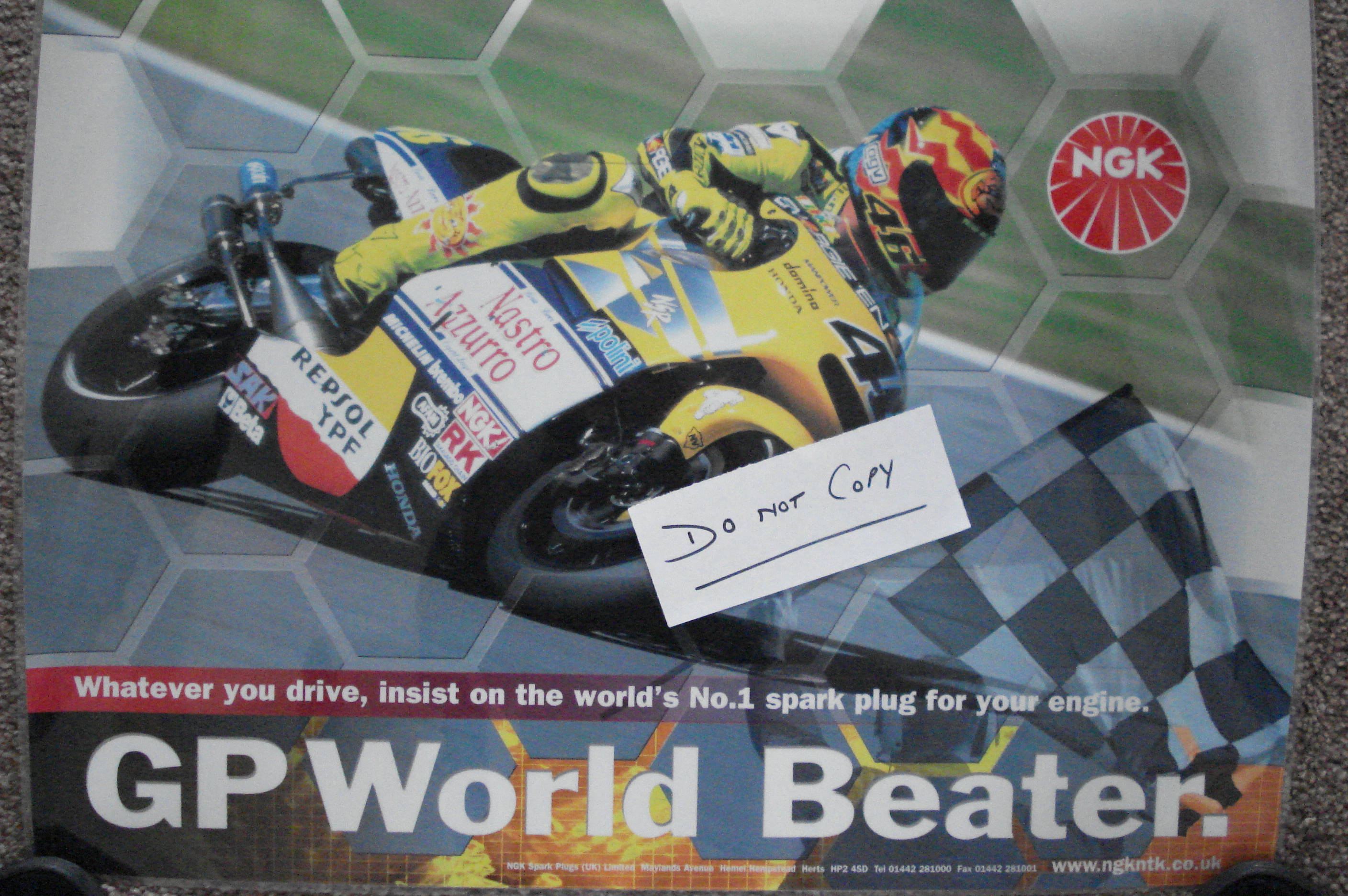 Rossi NGK poster