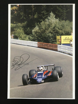 Mansell Tissot Essex Lotus 81-Signed
