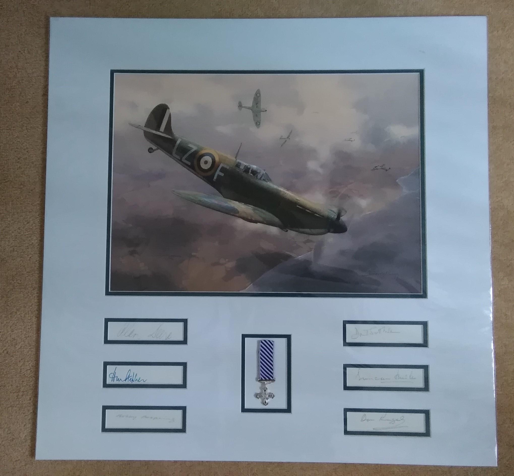 Battle Of Britain Spitfires-Darryl Legg