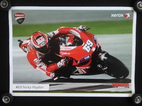 Nicky Hayden WDW 2010 Poster