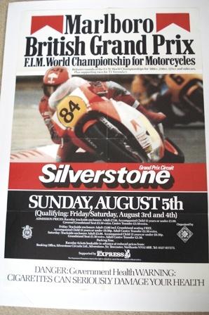 Marlboro British GP Silverstone 1984