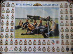 RAF Battle Of Britain Poster