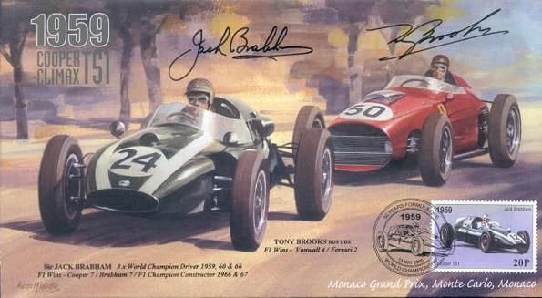 Brabham/Brookes Signed FDC