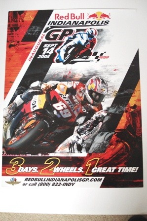 Original poster 2008 USA Moto GP
