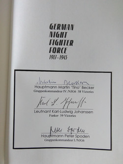 German Night Fighter Force-Multi Signed