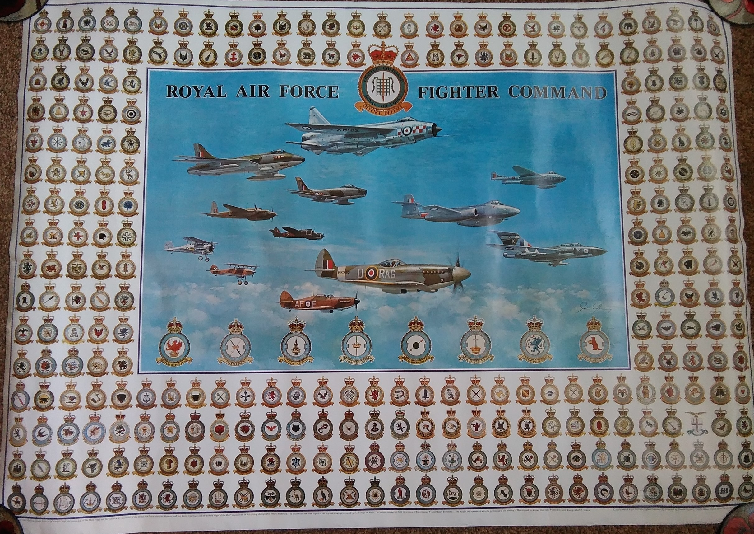RAF Fighter Command Poster