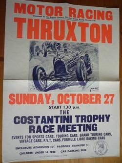 Thruxton Constantini 1968 Poster