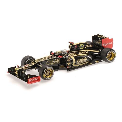 Raikkonen E20 2012 Lotus Minichamps