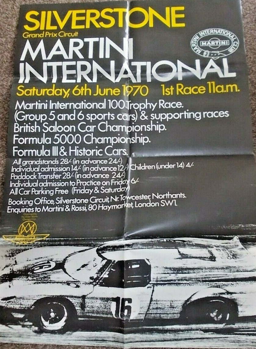 Silverstone Martini Int 1970