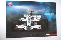 Jenson Button Honda/NGK Poster