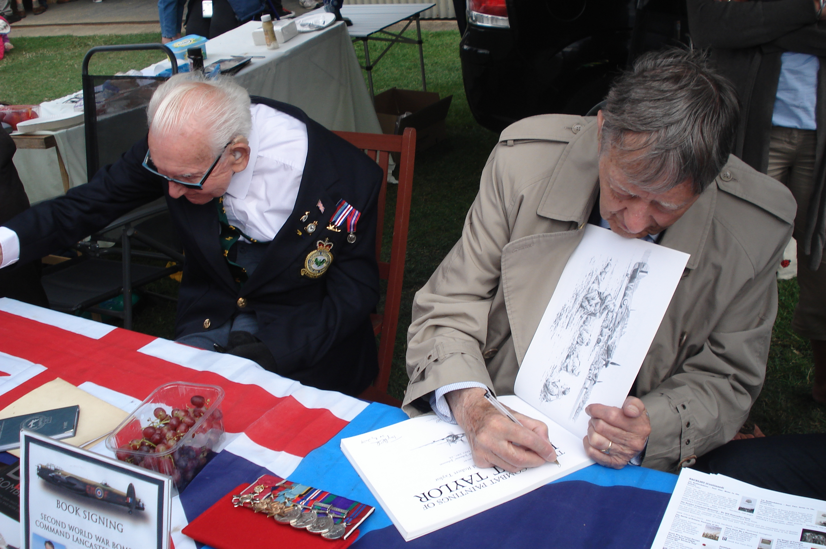 Little Gransden Airshow Signing