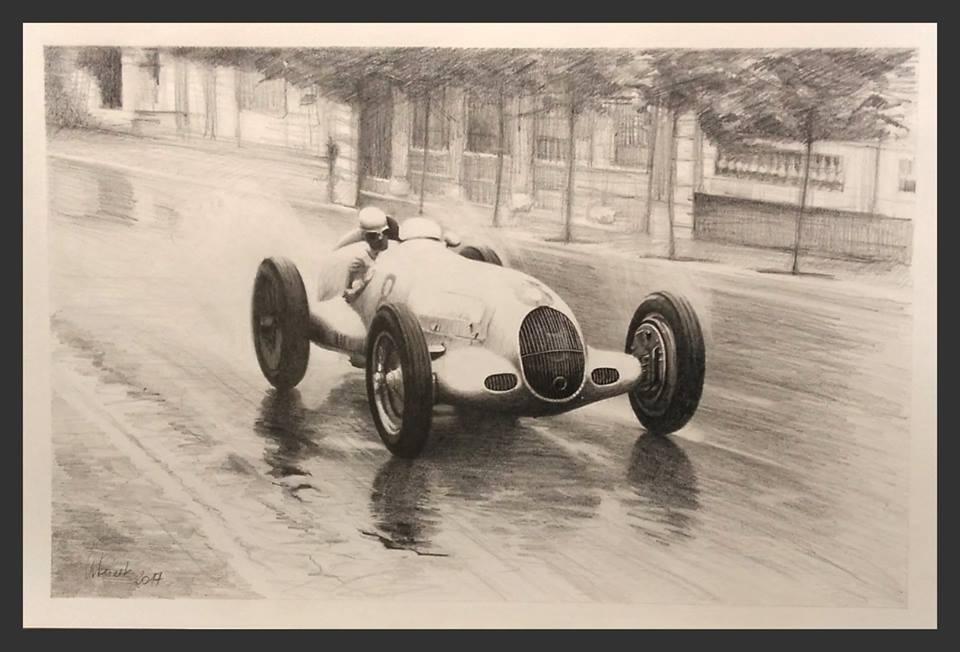 Rudolf Caracciola Monaco 1936