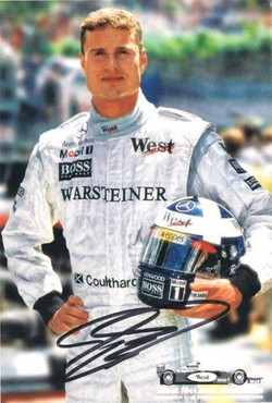 Coulthard Signed Mercedes