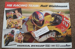 Ralf Waldmann HB Honda Poster