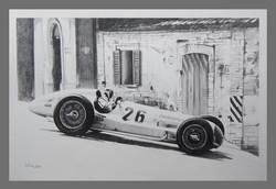 Rudolf Carracciola W154 Coppa Acerbo