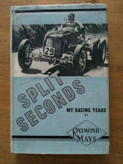 Split Seconds - By Raymond Mays