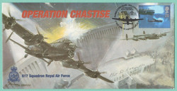 Dave Rodgers Signed Operation Chastise  FDC