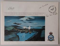 Derwent Dam FDC - 617 Veteran Signed