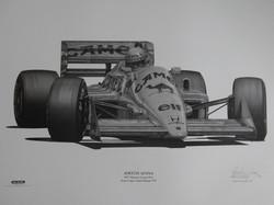Ayrton Senna 1987 Monaco-Alan Stammers