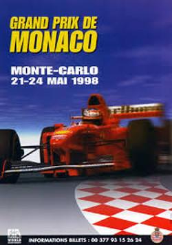 Original Monaco 1998 Poster