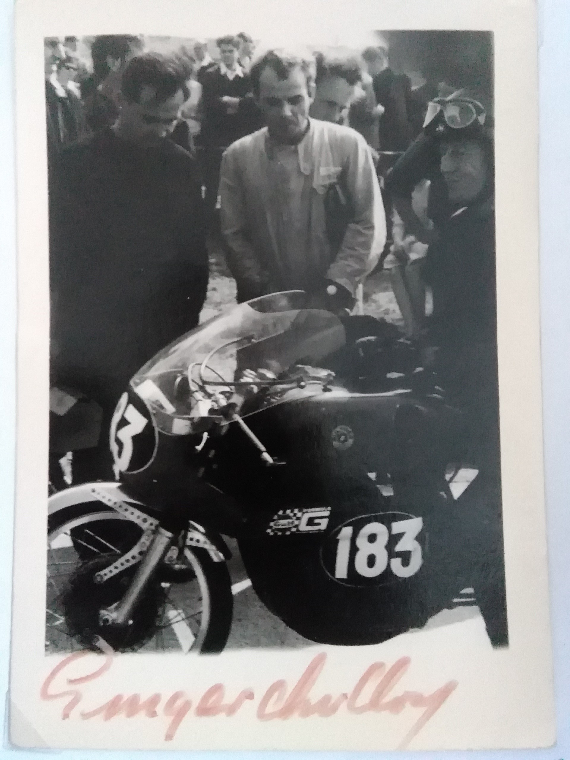 Ginger Molloy-Bultaco-Signed