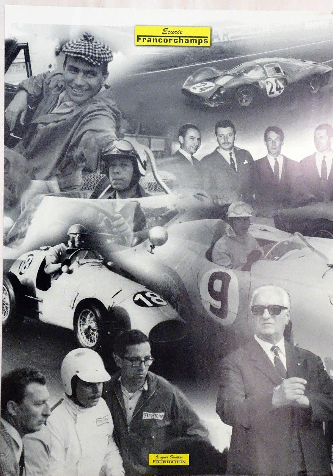 Ecurie Francorchamps Ferrari Poster 1