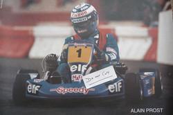 Alain Prost-Paris Bercy Karting
