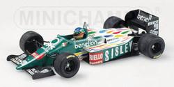 Gerhard Berger Benetton 1986