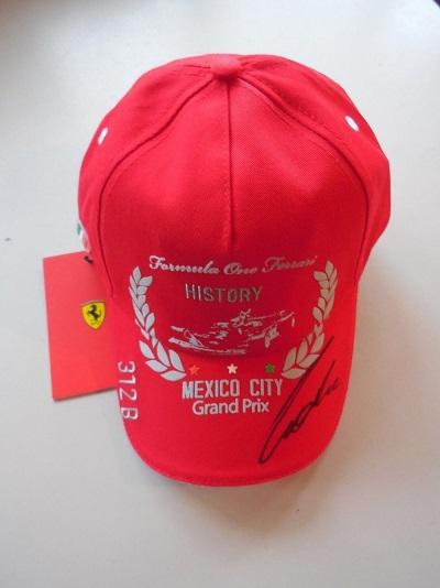 Lauda Signed Mexico Cap