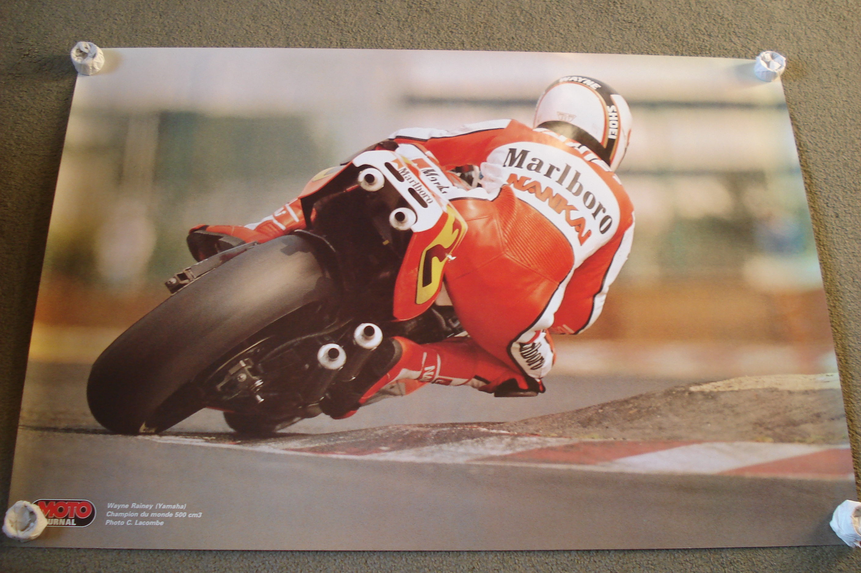 Wayne Rainey YZR500 Yamaha Poster
