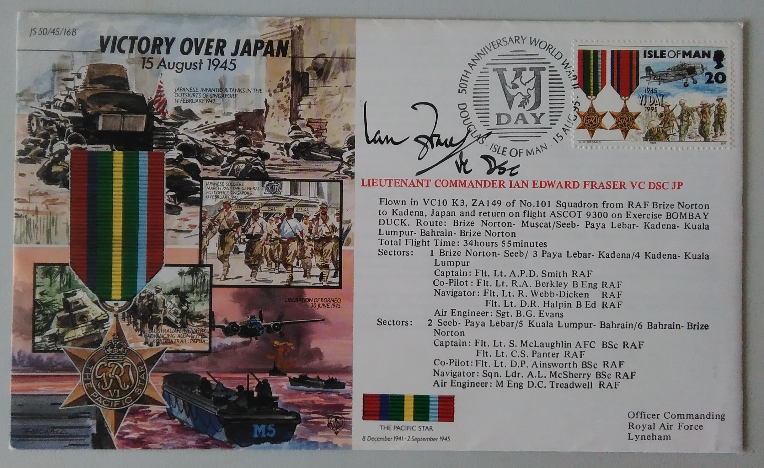 Victory Over Japan 15-8-1945