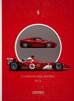 Ferrari Yearbook 2004-Signed