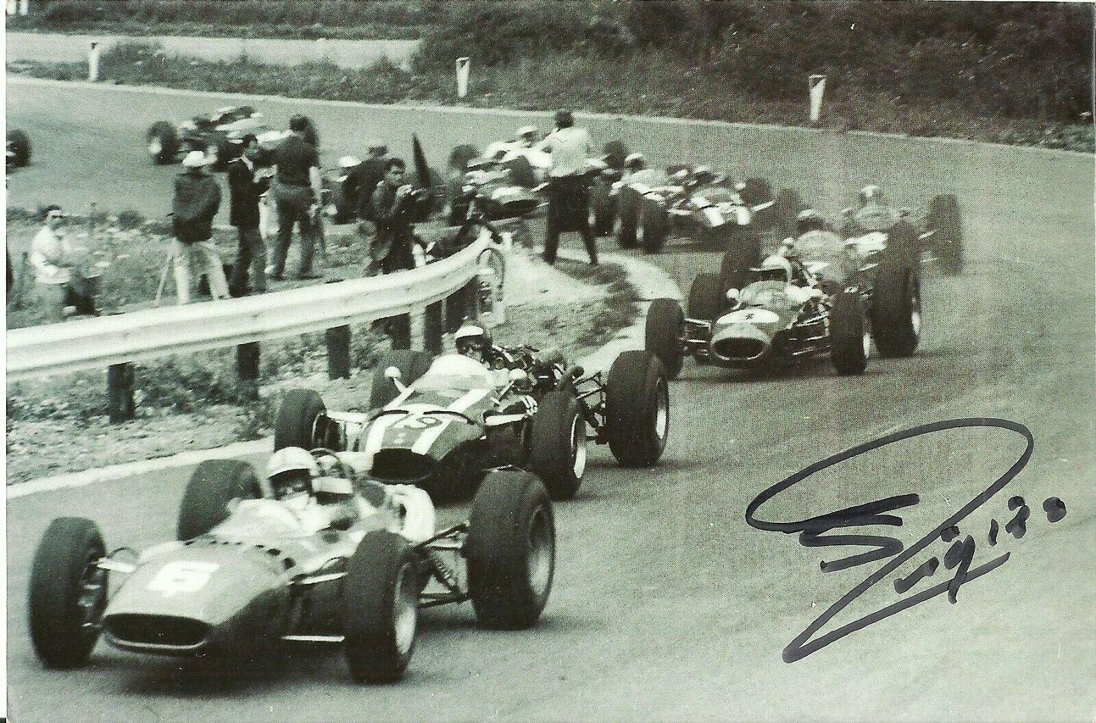 Guy Ligier Signed Photo