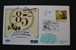 Stirling Moss Signed Brooklands FDC