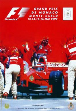Original Monaco 1999 Poster