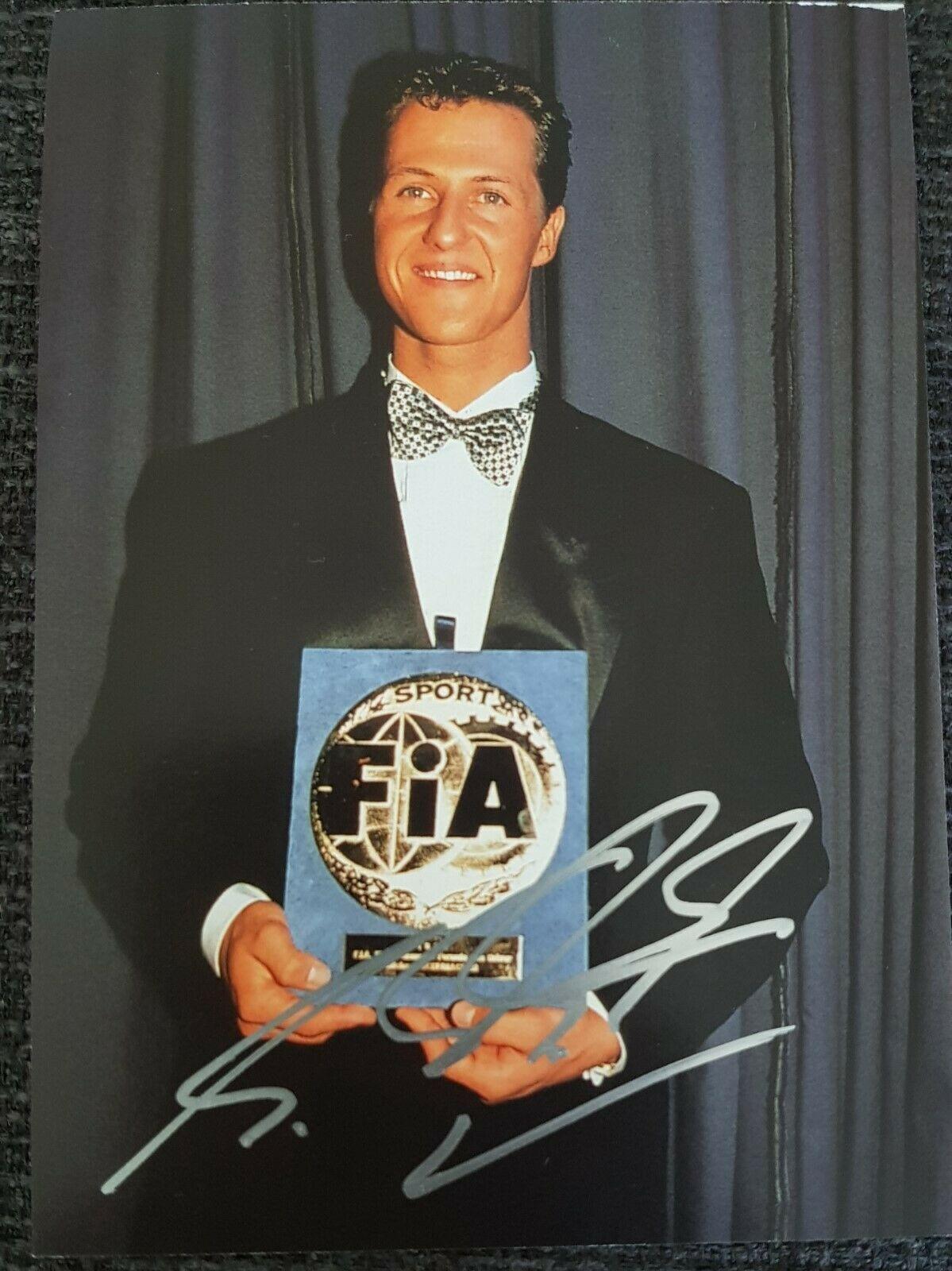 Schumacher Signed Card 2