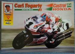 Carl Fogarty-RVF Honda Poster
