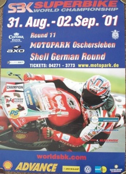 WSB Oschersleben 2001 Poster