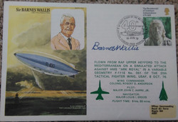 Barnes Wallis Signed Own FDC
