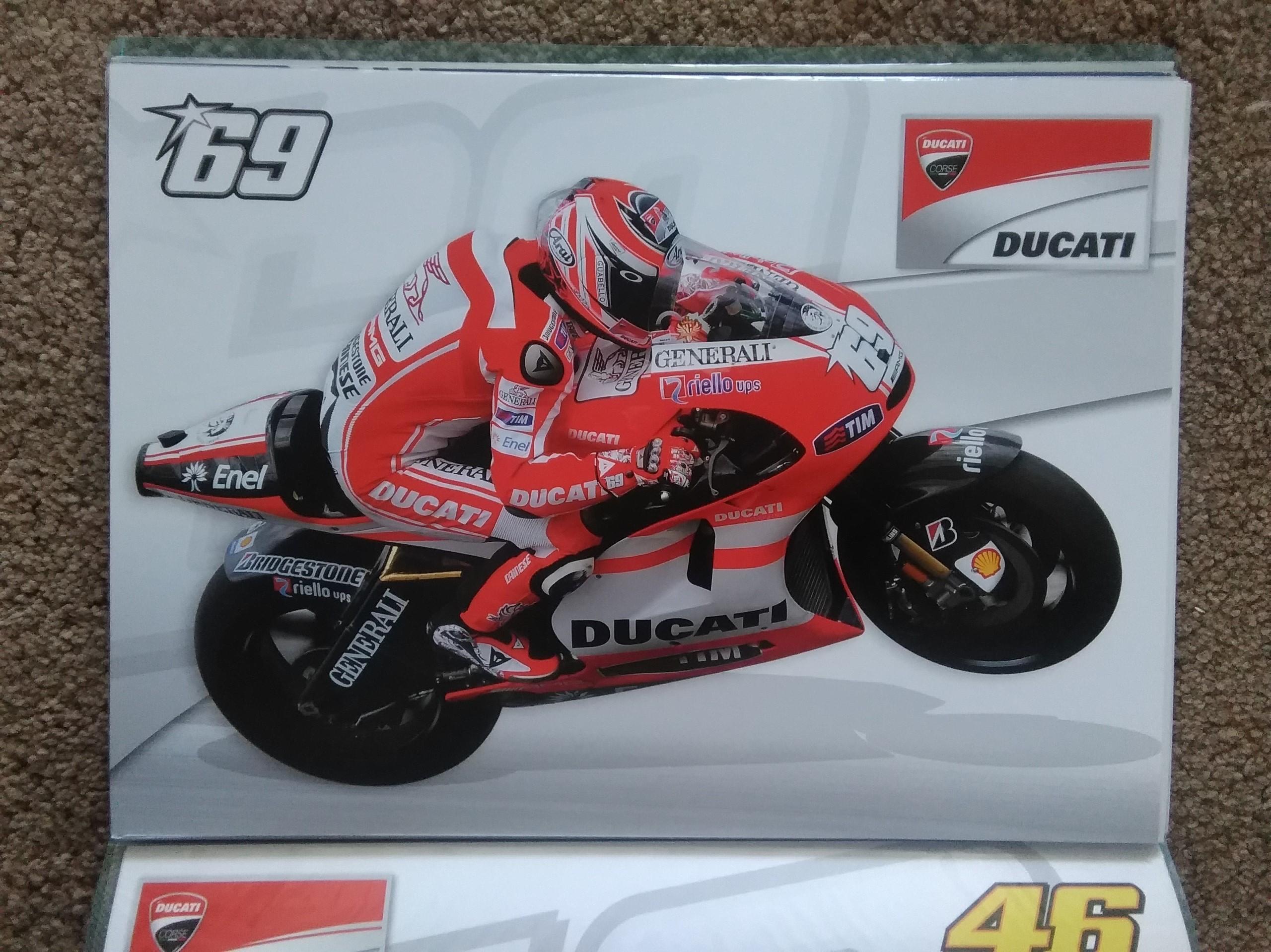 Nicky Hayden Ducati Moto GP Poster