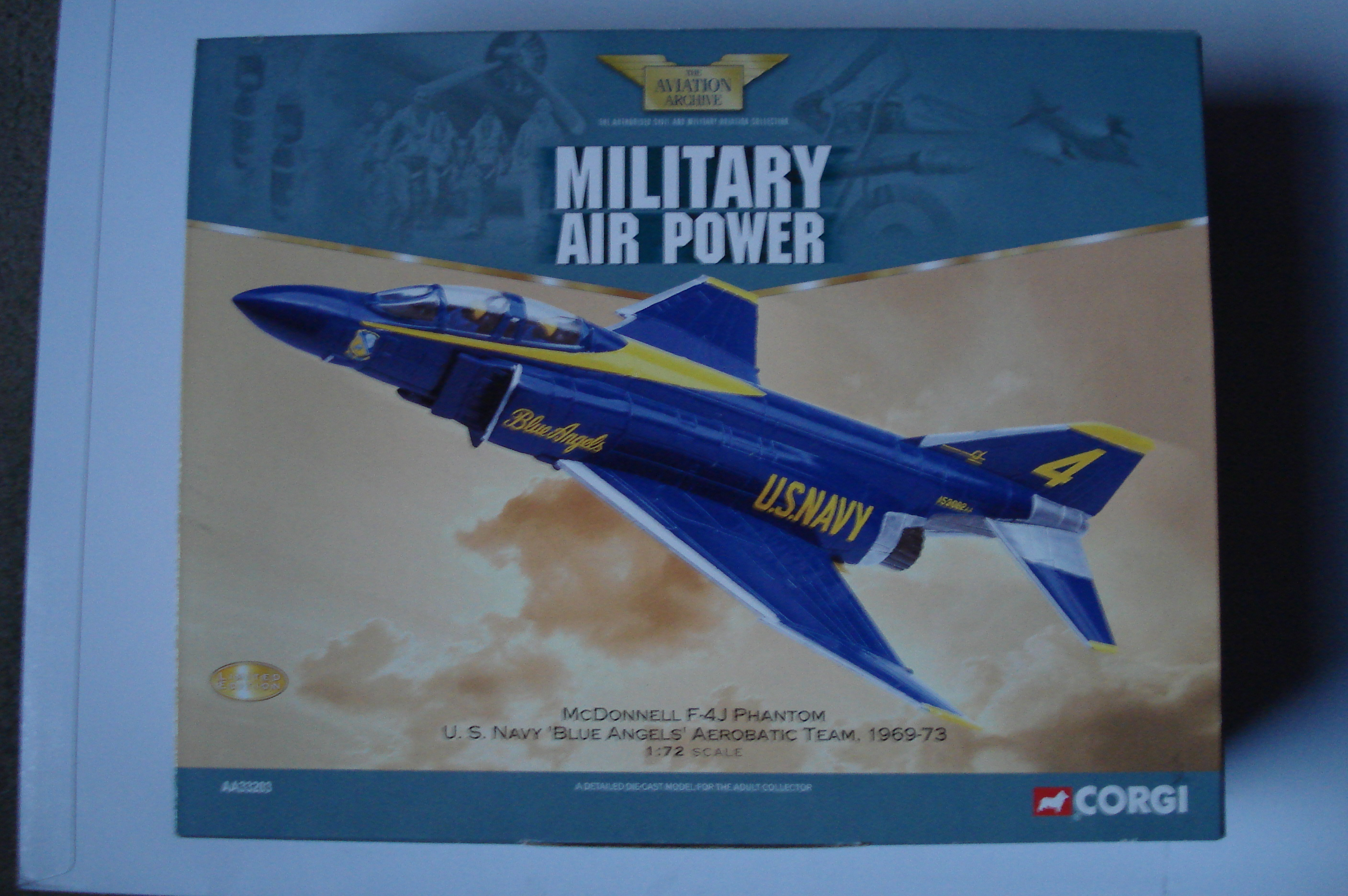 Corgi Blue Angels F-4J Phantom